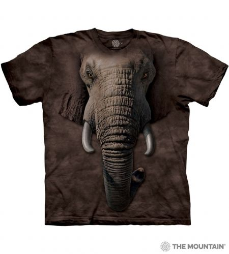 Elephant Face T-shirt | The Mountain®